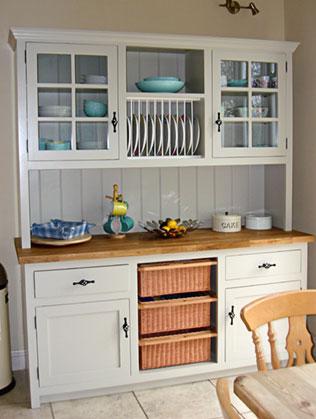 Freestanding Kitchen Dressers Amp Larder Units Oak Kitchen