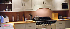 Christopher Allens hand crafted fitted and freestanding kitchen