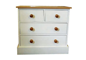 "2 Over 2 All 8"" Deep Drawer Chest"