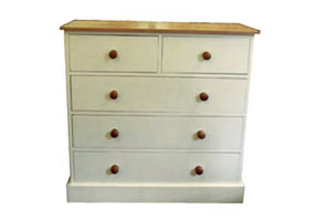 "2 Over 3 All 8"" Deep Drawer Chest"