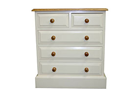 2 Over 3 Drawer Chest