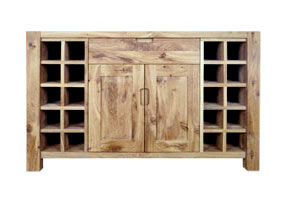 Wine Rack Sideboard