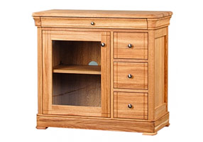 3 Drawer CD/DVD Unit (Glazed)