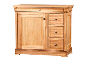 3 Drawer CD/DVD Unit (Solid)