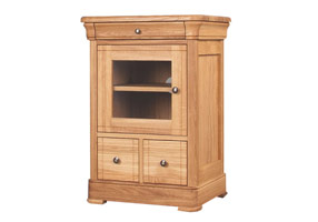 2 Drawer CD/DVD Unit (Glazed)