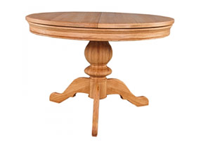 Single Ped Dining Table